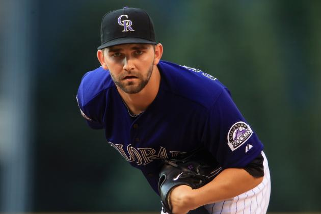 Colorado Rockies' Tyler Chatwood Appears Good to Go for Sunday