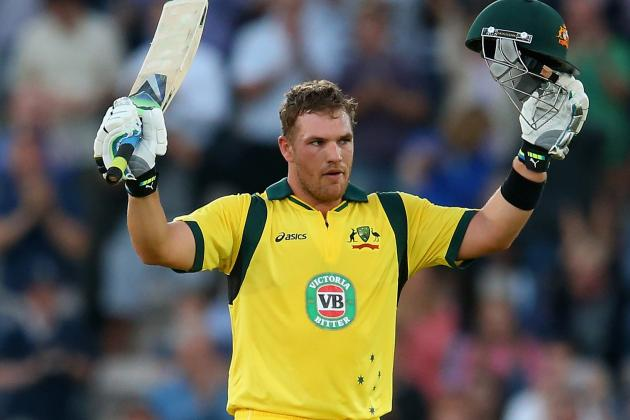 England vs. Australia: Aaron Finch Breaks Records with 156 from 63 Balls in T20