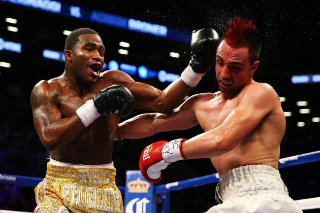 Adrien Broner Claims Third World Title With Split Verdict Over Paulie Malignaggi