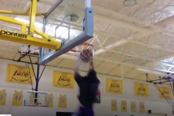 Video: Nick Young, Jordan Farmar Show Off Their Athleticism
