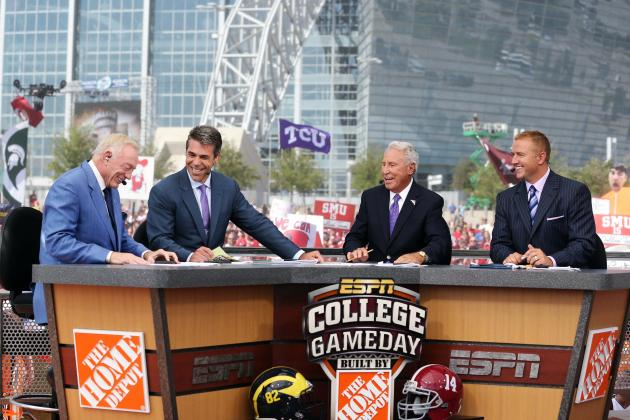 College Gameday 2013: Week 1 Schedule, Location, Predictions and More