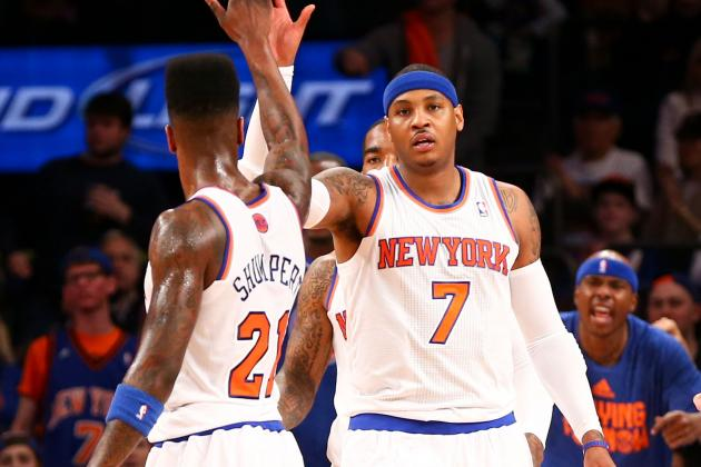 How Iman Shumpert Must Evolve to Become Carmelo Anthony's Wingman