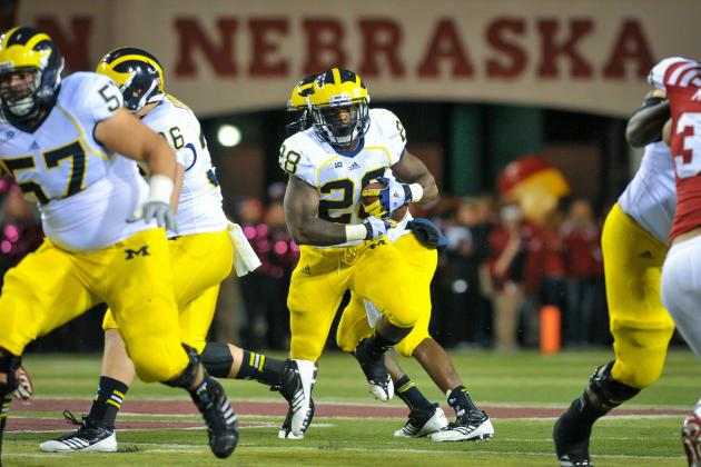 Michigan Football: Are Fitz Toussaint and Drake Johnson the Right 1-2 RB Combo?
