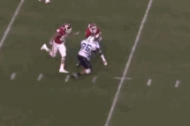 Indiana University's Shane Wynn Goes to the House on a 58-Yard Punt Return