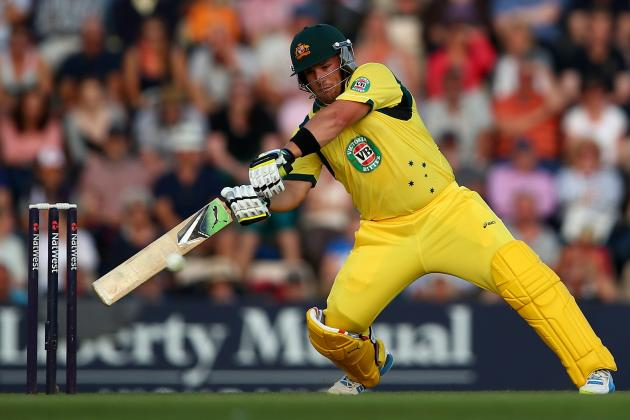 England vs. Australia Cricket 2013 T20I: Aaron Finch's Ferocious Retribution