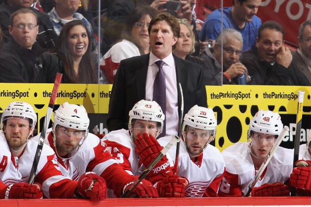 Which Red Wings Will We See in 2013-14: Aging Club or Playoff Upstart?