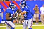 Giants' RB Andre Brown Fractures Leg