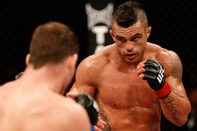 Dana White Confirms Vitor Belfort vs. Dan Henderson for Nov. 9 in Brazil