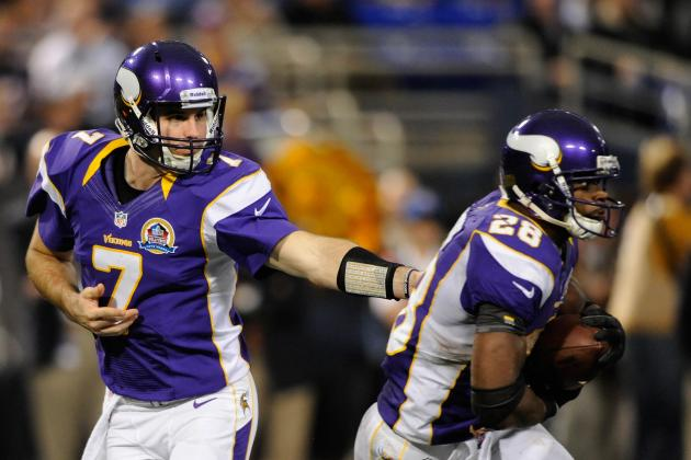 Updated Outlook for the 2013-14 Minnesota Vikings Offense