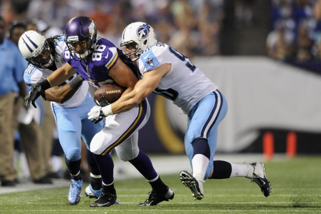 Tennessee Titans at Minnesota Vikings: Live Scores, Highlights and Analysis