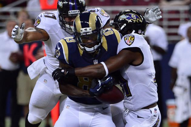 Rams Subs Rally to Beat Ravens Subs 24-21