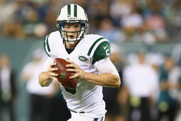 Matt Simms Leads Jets to Victory over Eagles