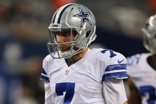 Cowboys' Tanney Takes a Pounding