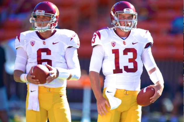 USC Trojans Head Coach Lane Kiffin Can't Hide QB Problems Forever