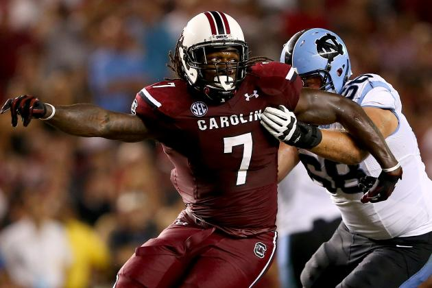 North Carolina Shows That Uptempo Can Slow Down Jadeveon Clowney