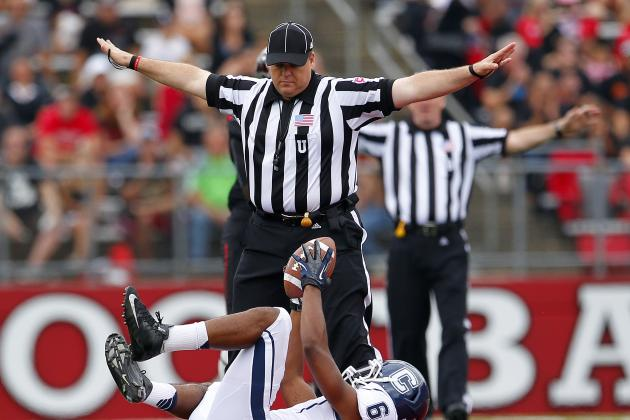 College Football's New Ejection for Targeting Rule Called Twice on Opening Night
