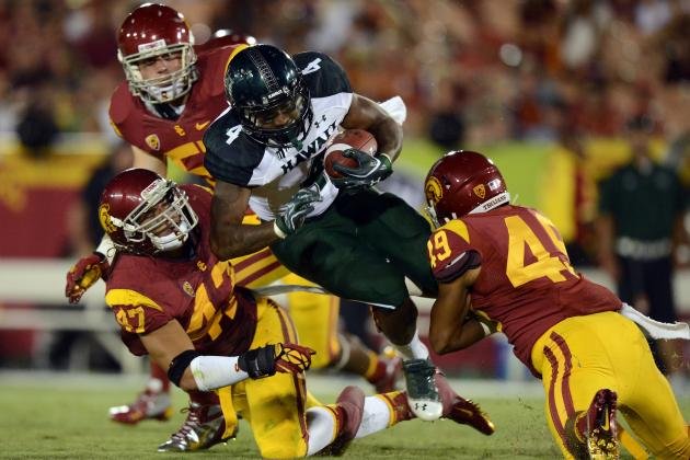USC Defeats Hawaii, 30-13, in Season Opener