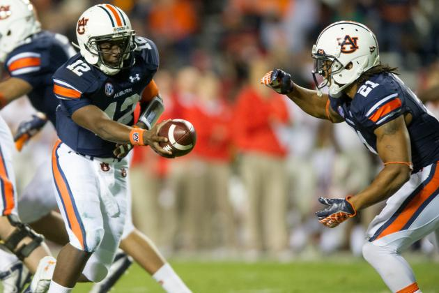 Auburn Football: Who Will Lead Tigers' Rushing Attack Against Washington State?
