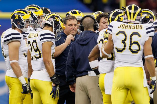 Michigan Is Still a Year Away from Serious National Championship Contention