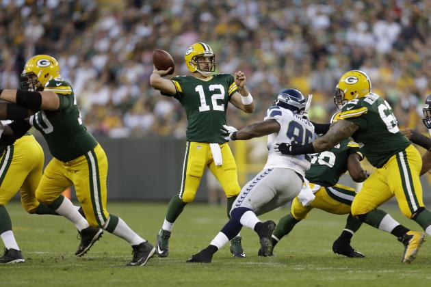 Ted Thompson: Green Bay Packers' O-Line Will Be Fine