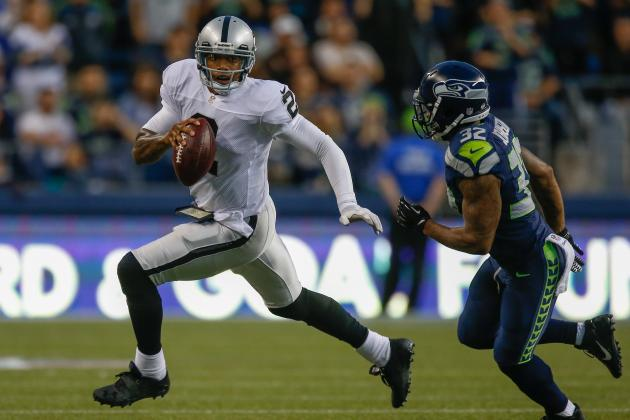 Oakland Raiders QB Terrelle Pryor Misses Big Opportunity Thursday Night