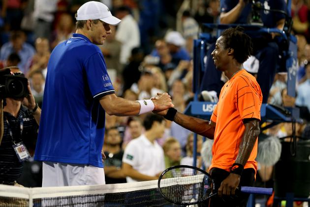 John Isner Prevails over Gael Monfils Despite Lack of Crowd Support on Home Turf