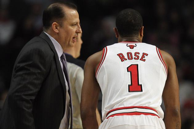 Thibodeau Checks in on Rose