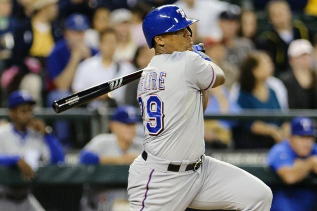 Despite Big Numbers, Beltre Knows MVP Is out of Reach