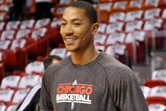 D. Rose and Jimmy Butler Already Building Chemistry