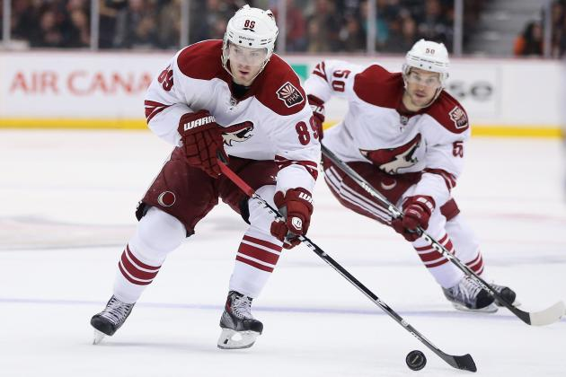 Coyotes Still Trying to Sign RFA Boedker