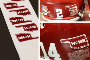 OU to Feature New Helmet Decal