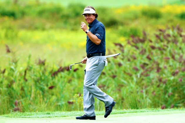Phil Mickelson's 63 at Deutsche Bank Strengthens Case for Player of the Year