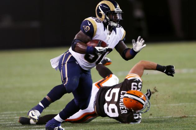 Rams' Rookie Review: Stacy Gets Long Look