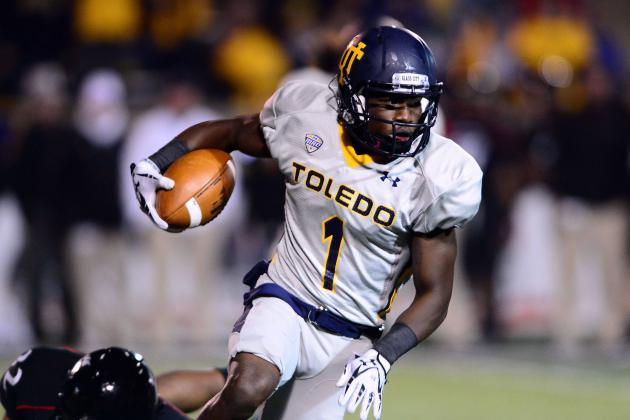 Toledo WR Says Rockets Can Wear Down Florida Gators in Second Half