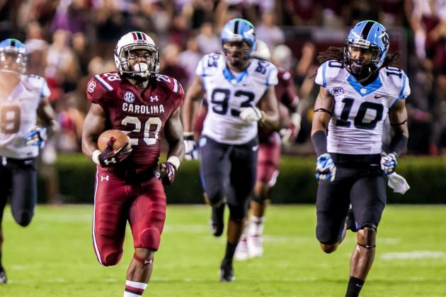 UNC vs. South Carolina: Live Game Grades and Analysis for Gamecocks