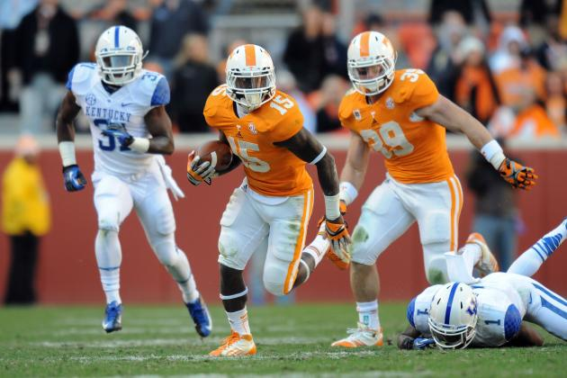 Tennessee Vols Running Backs Hold Keys to Offense