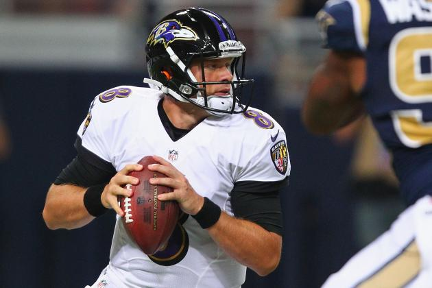 Ravens Cut 11, Including Caleb Hanie