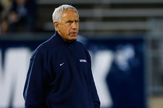 UConn Football: Huskies Loss to Towson All but Seals Paul Pasqualoni's Fate