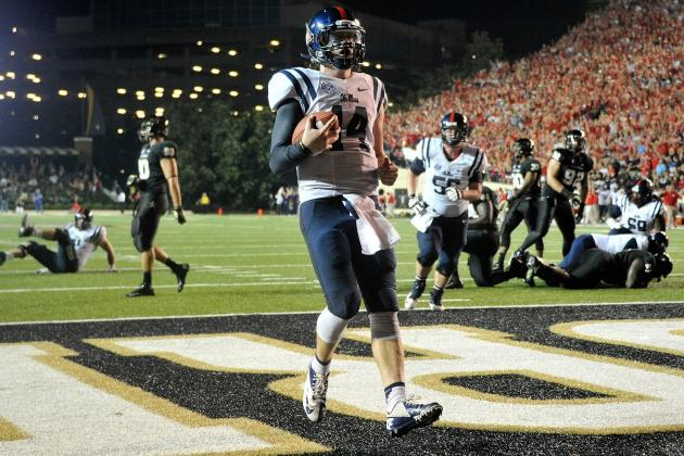 Ole Miss Rebel Football: The Miracle in Nashville over the Vanderbilt Commodores