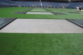 Reliant Stadium Will Roll out Artificial Turf for OK State-Mississippi State