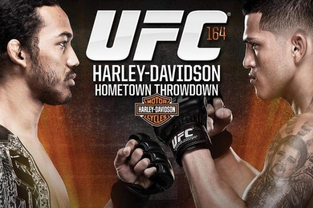 UFC 164 Weigh-in Results: Benson Henderson vs. Anthony Pettis Fight Card