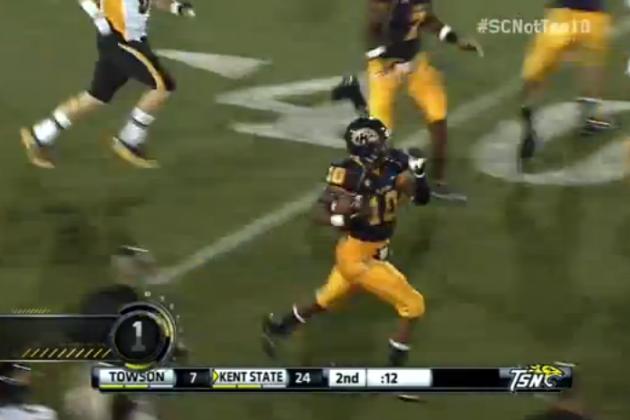We Remember Kent State's Andre Parker Returning a Punt the Wrong Way