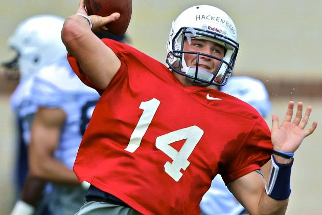 Penn State to Start Freshman Christian Hackenberg Against Syracuse