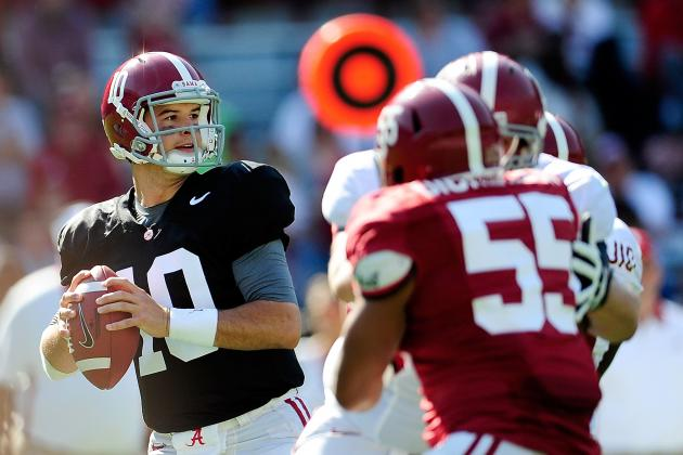 AJ McCarron Injury: Updates on Alabama QB's Toe