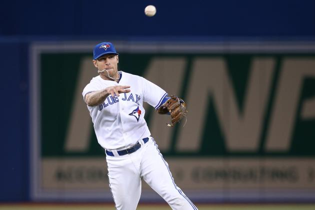 Blue Jays' Brett Lawrie Makes Sick Jumping, Bare-Handed Play