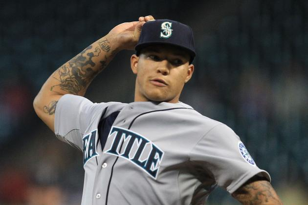How Taijuan Walker Compares to MLB's Great Crop of Rookie Pitchers