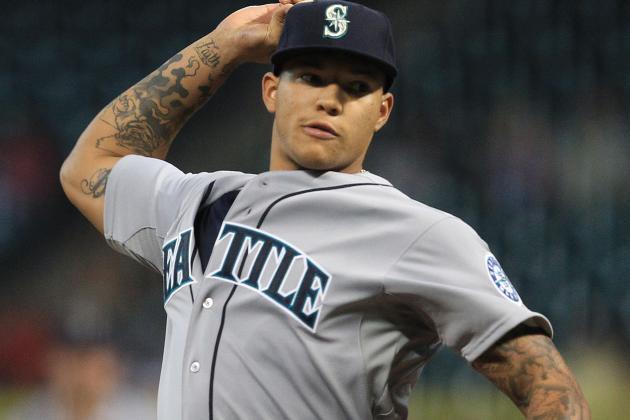 Taijuan Walker Impresses over Five Innings in MLBdebut