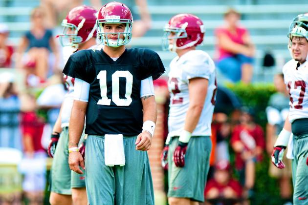AJ McCarron Injury: Updates on Alabama QB's Toe