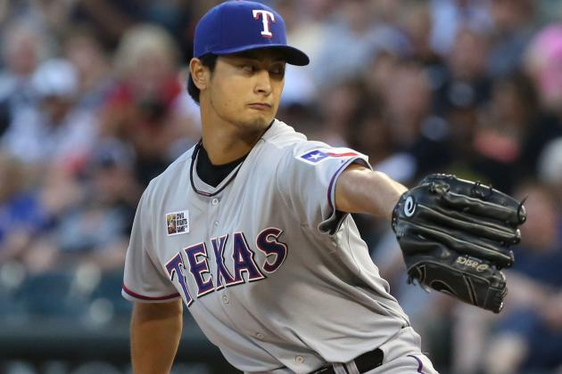 Darvish Loses No-No, Then Lead in Rangers Loss