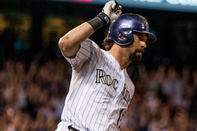 Helton's 2 Homers Power Rockies Past Reds